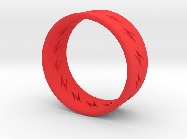 lightning ring 3d printed
