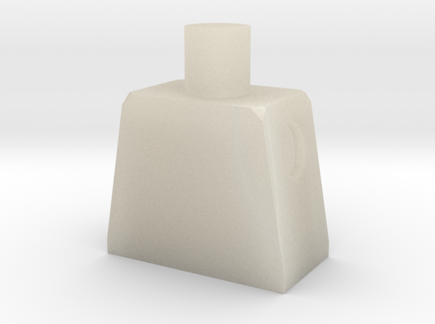 Minifig Body 3d printed