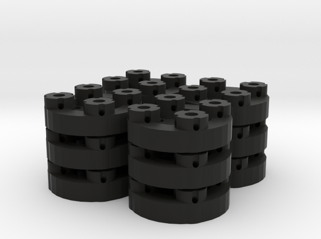 Sewable Disc Buttons (12 Pack) 3d printed