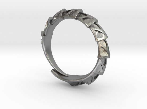 Carapace Ring 3d printed