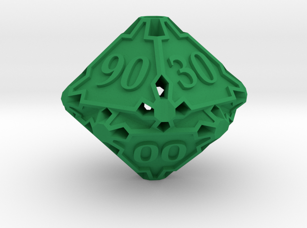 Large Decader Die10 3d printed