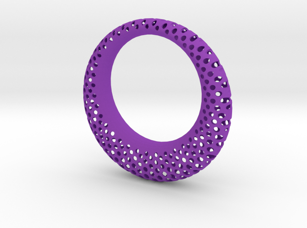 Polyoptic Bangle 3d printed