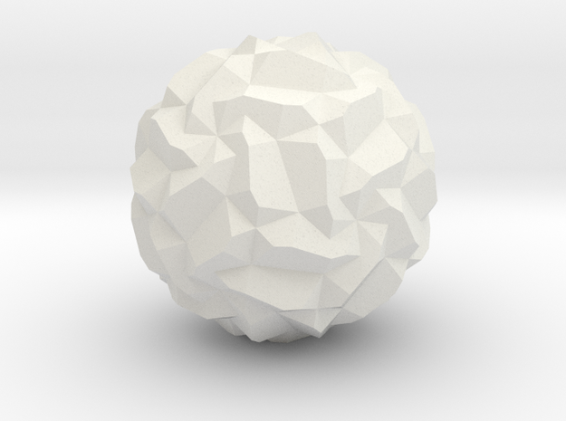 Polyhedron with hole! 3d printed