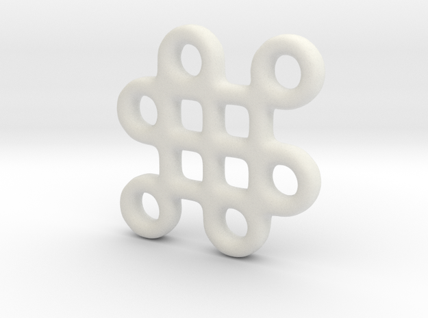 Mystic Knot Pendant 3d printed Photo 3