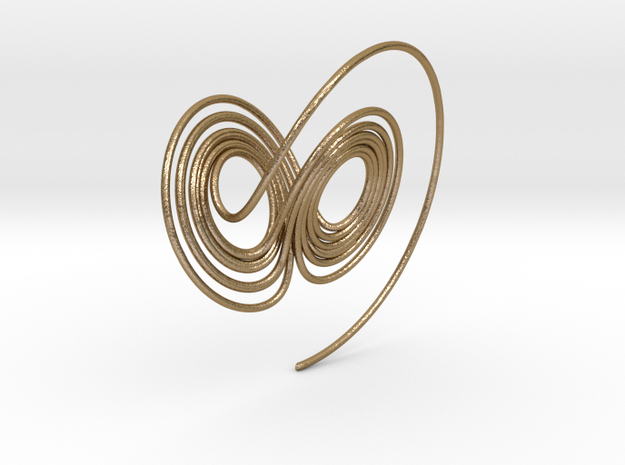 Lorenz Attractor Large 3d printed