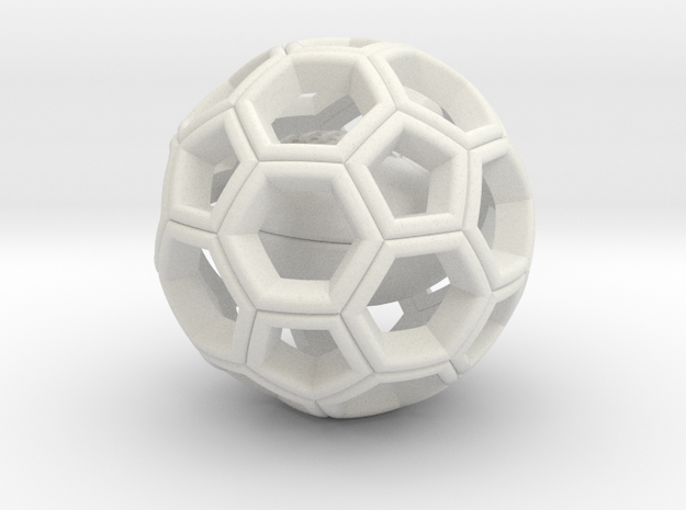Soccer Ball with American Football Inside #2 3d printed