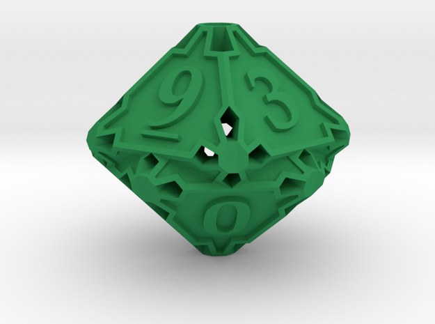 Large Die10 3d printed
