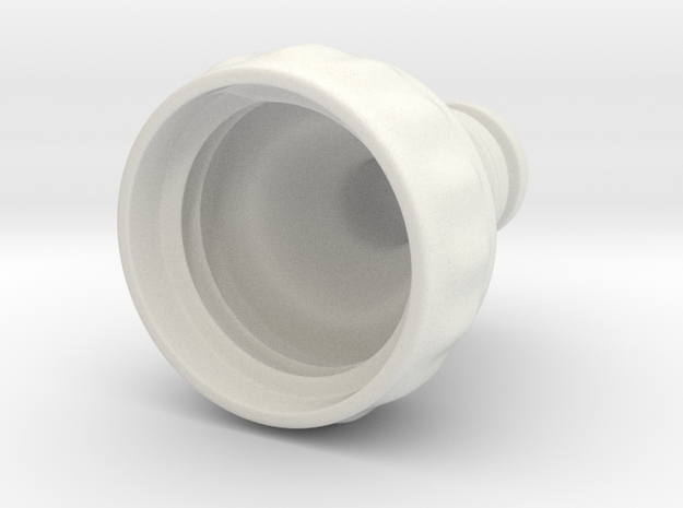 Gardenhose adapter for PET bottles 3d printed