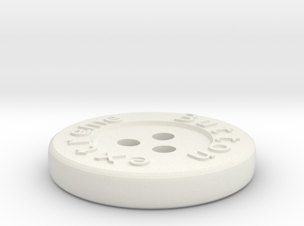 Generated button 3d printed