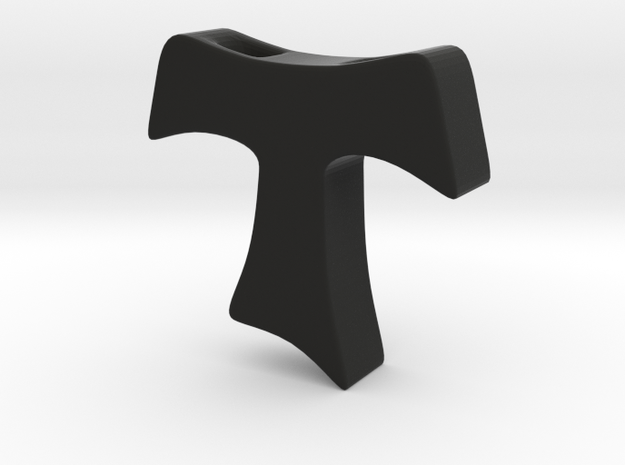 Tau cross pendant SMALL 3d printed