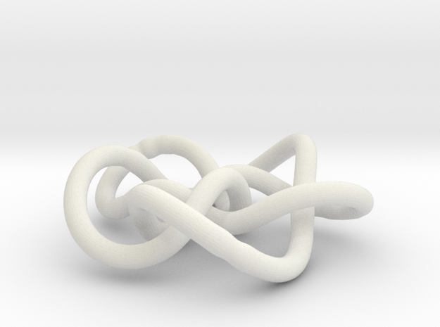 Prime Knot 8.16 3d printed