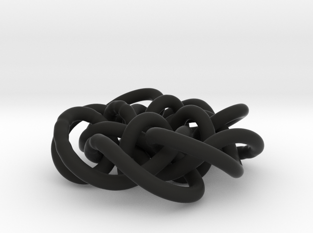 Prime Knot d4.122 3d printed