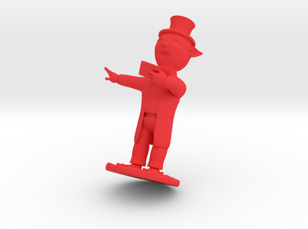 Christmas Caroler Elf 3d printed