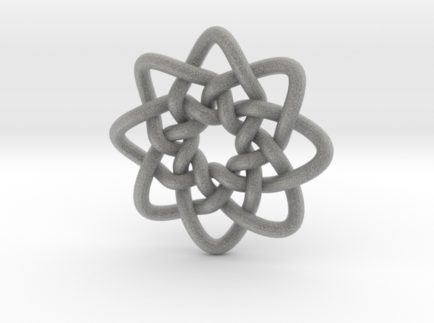 Celtic Knots 05 (small) 3d printed
