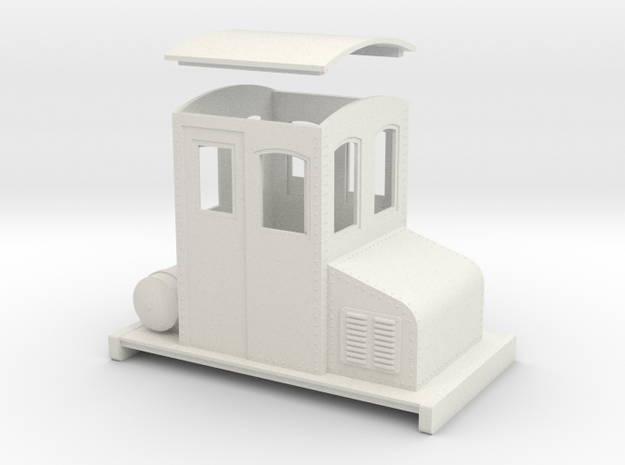 On30 small electric loco no 1 3d printed