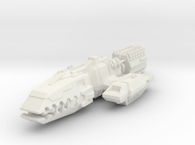 Colonial Battlewagon 3d printed