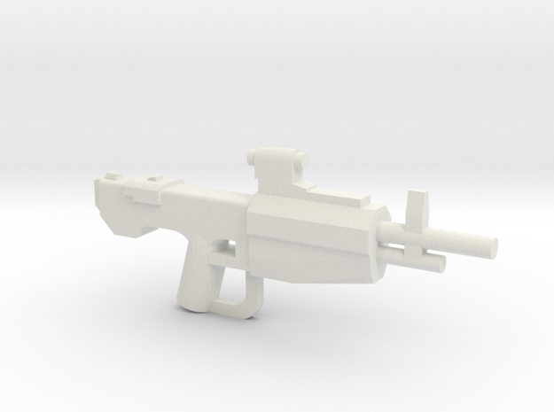 Scoped Marksmanship Rifle 3d printed