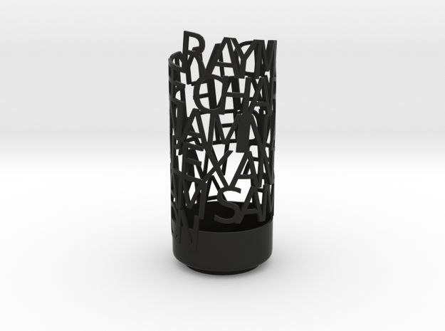 Light Poem sambo 3d printed