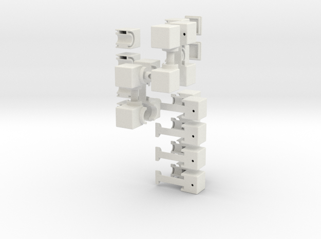 The S-Cube 3d printed