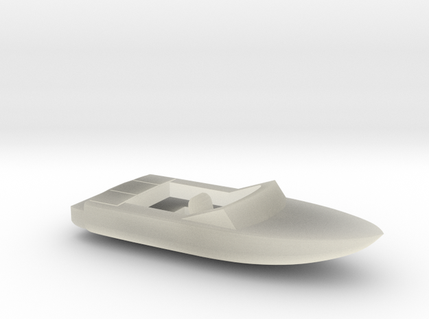 Pleasure Boat - Z scale 3d printed