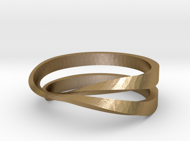 split mobius ring 3d printed