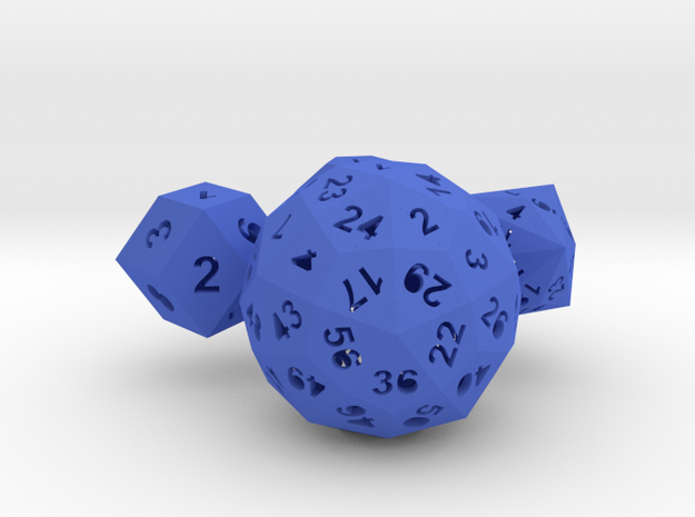 Catalan dice bundle 1 3d printed