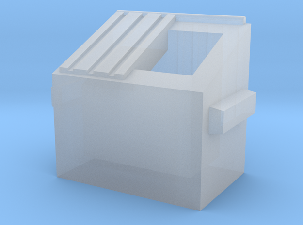Dumpster - Z scale 3d printed