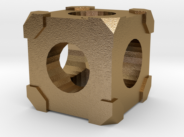 The Cube 3d printed
