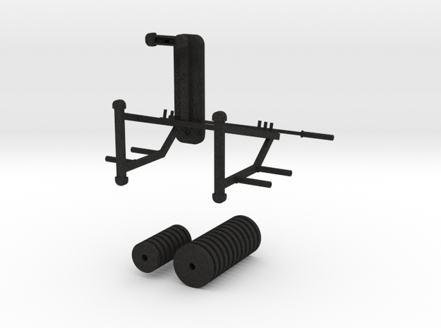Mini Supine Bench Press 3d printed