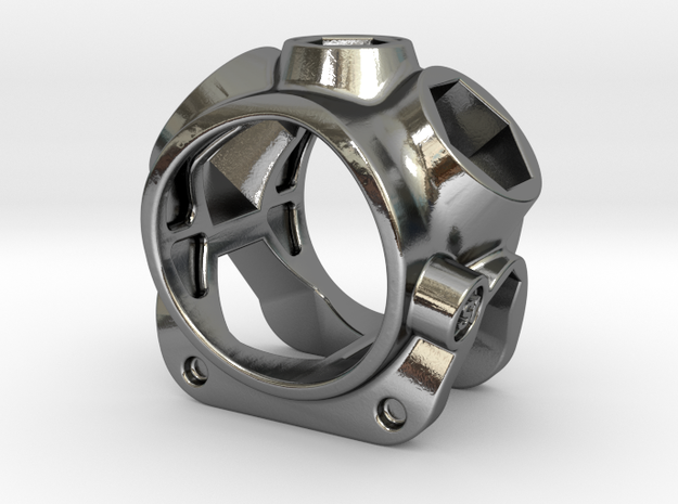 1086 ToolRing - size 7 (17,35 mm) 3d printed