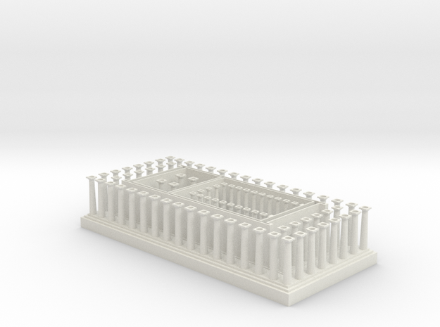 Parthenon Lower Section 3d printed