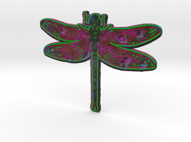 Dragonfly D 3d printed
