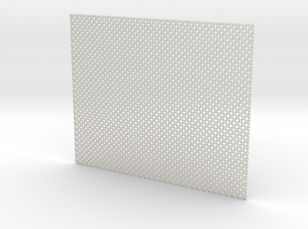 Squaremaille - Flat N place mat 3d printed