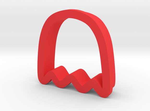 Pacman Ghost Cookie Cutter 3d printed