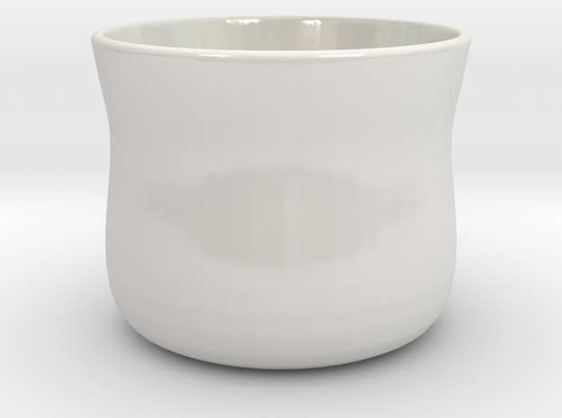 coffee / tea cup no handle 3d printed