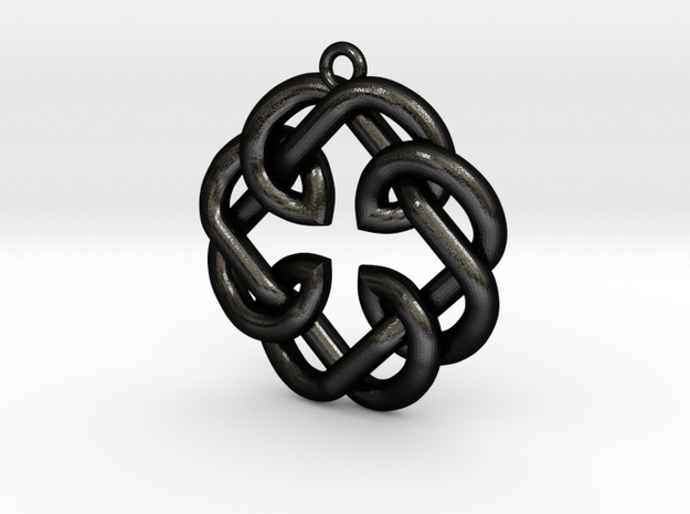 Fatherhood Knot Pendant 30mm 3d printed