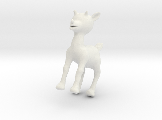 Rudolph the Red-Nosed Reindeer 3d printed