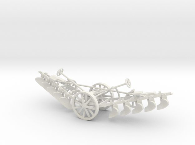1000-2 Tilt Plough 1:87 3d printed
