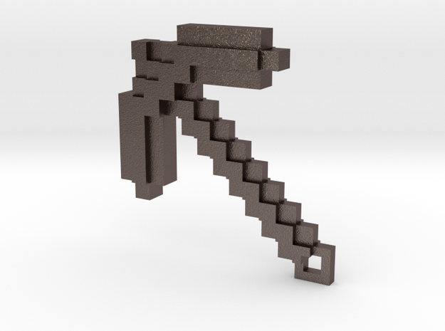 Minecraft - Pickaxe 3d printed PhotoView 360 Render