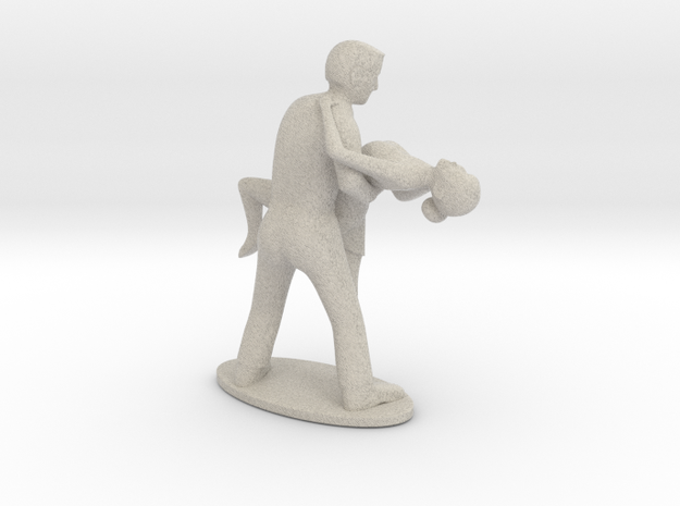 Dance latino 3d printed