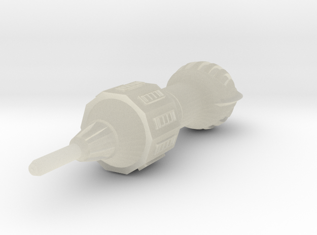 Alien Pursuit Ship 48mm 3d printed