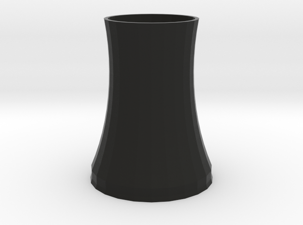 cooling tower of nuclear plant 3d printed