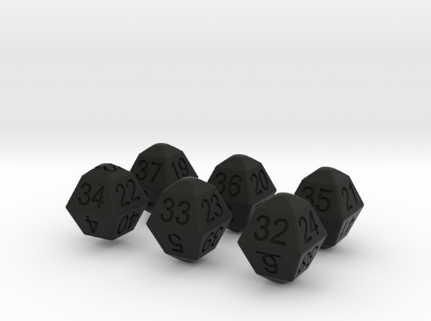 Lotto Dice(6x49) 3d printed