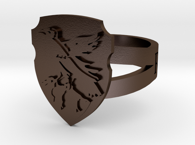 Ravenclaw Ring Size 8 3d printed