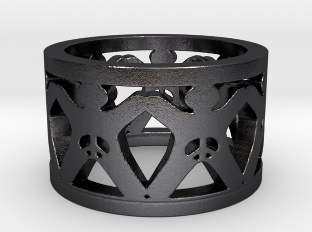 Intactivist Ring Size 7.5 3d printed