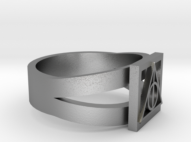 Deathly Hallows Ring 3d printed
