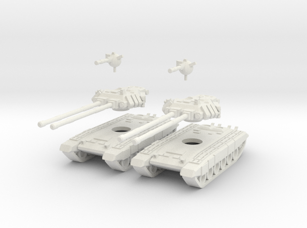 MG144-SV002A T-150 Indrik Heavy Tanks (2) 3d printed