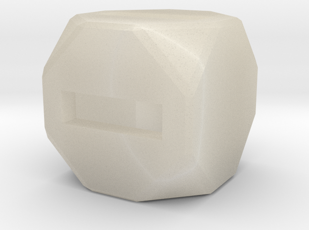 Fudge Dice 3d printed