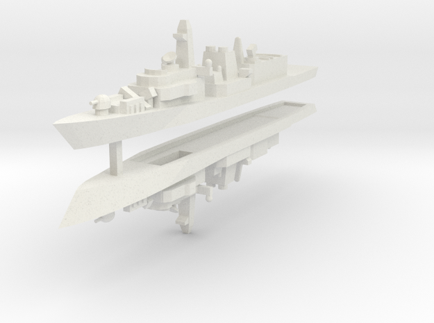 UK Type 23 1:2400 x2 3d printed
