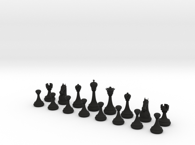 Chess Set Classic 3d printed